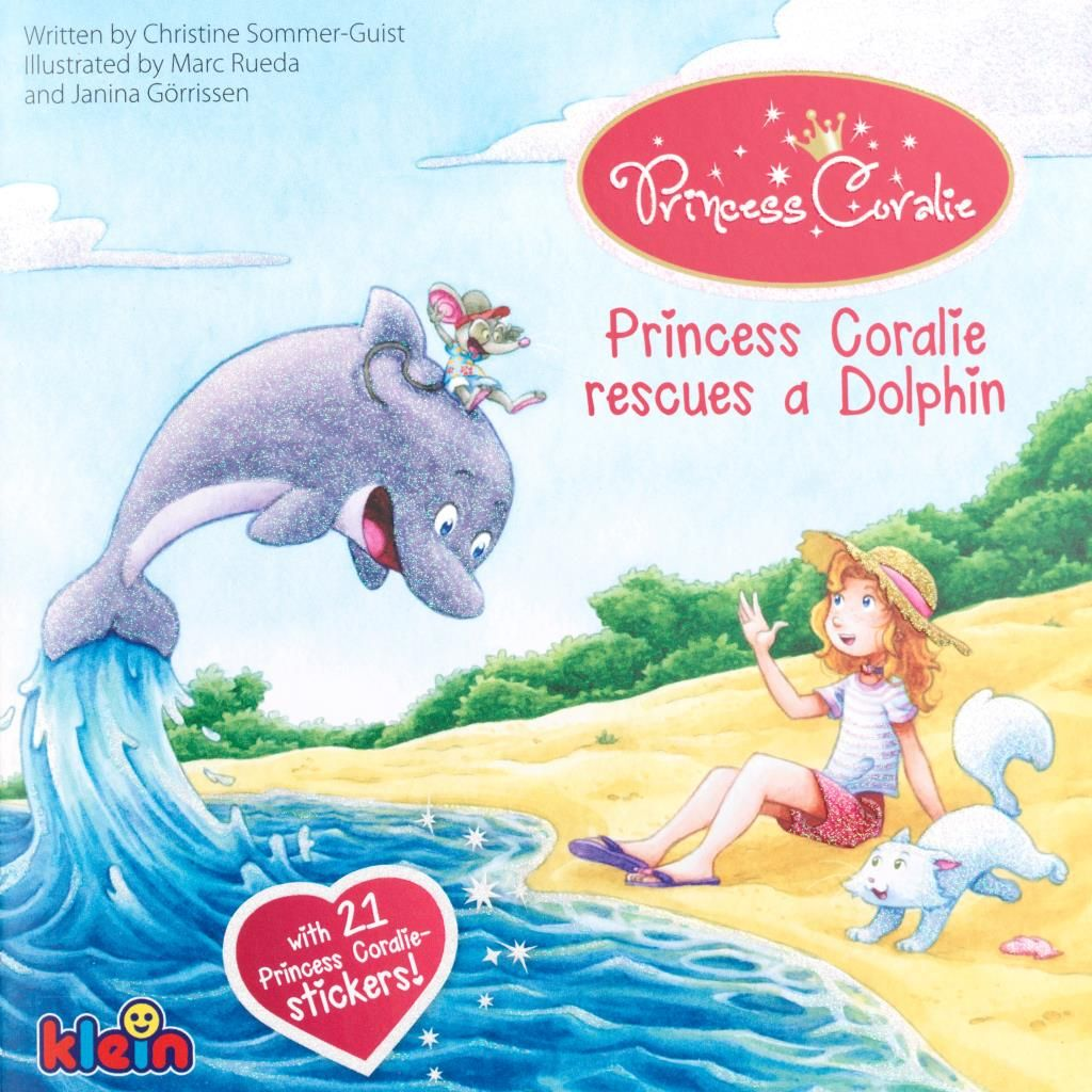 Princess Coralie rescues a dolphin