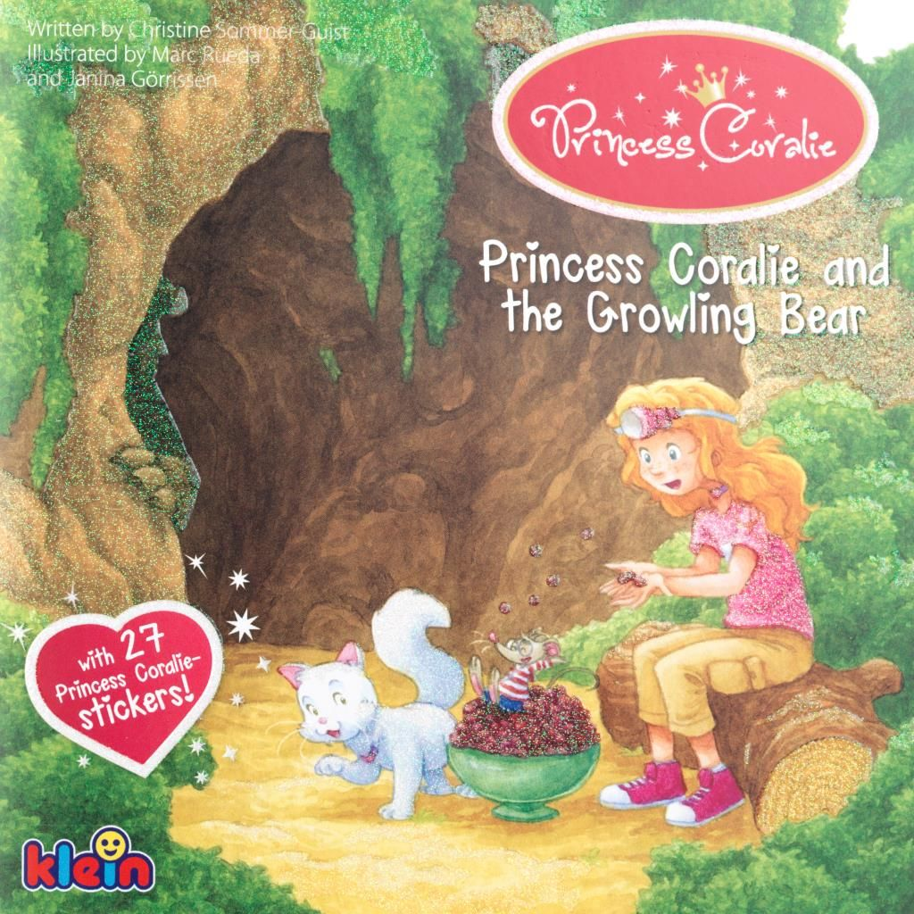 Princess Coralie and the Growling Bear